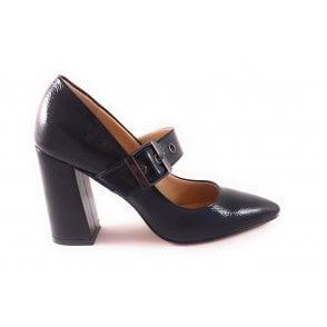 Black Patent Mary-Jane Shoe