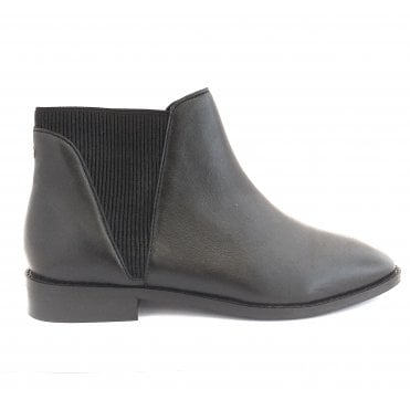 Black Sabalo Leather Chelsea Boots