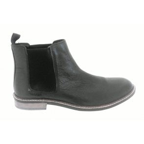 Blakesley Men's Black Leather Chelsea Boot