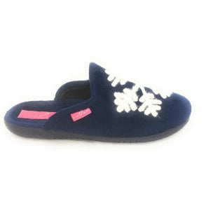 Blizzard Navy Blue Mule Slipper