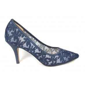 Briony Navy Court Shoes