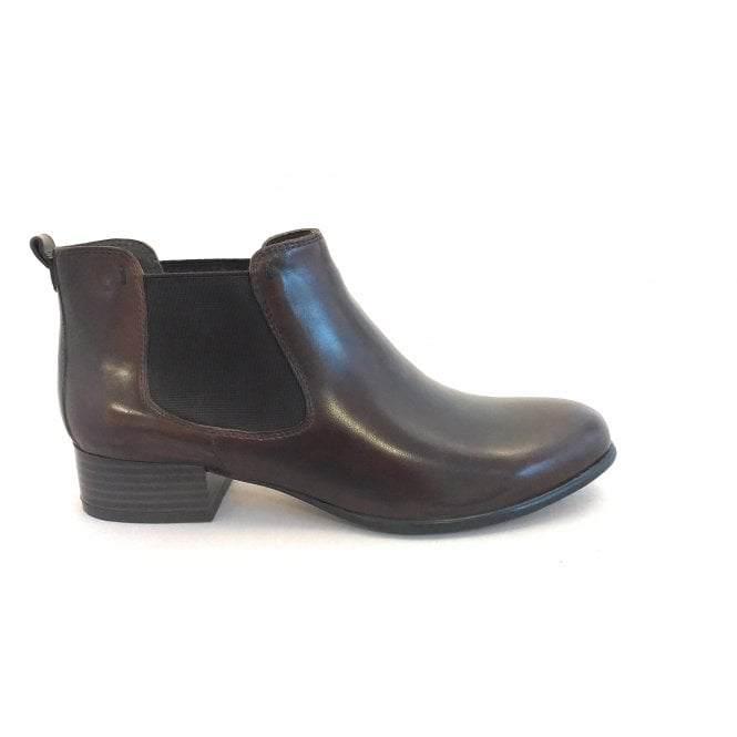 Canal Grande Brown Leather Chelsea Boots