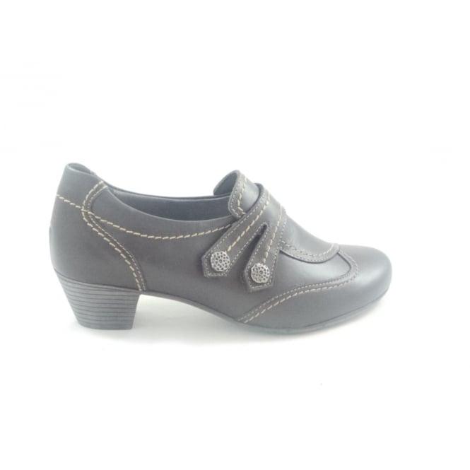 Kiarflex Brown Leather Slip-On Casual Shoe