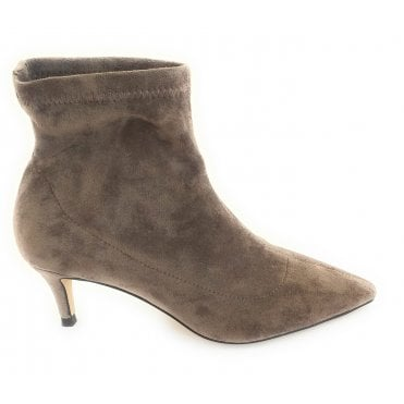 Brown Madruga Pointed Toe Sock Boots