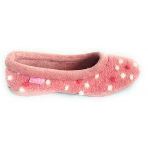 Bubbly Pink Full Slippers
