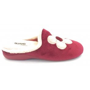 Burgundy Mule Slipper