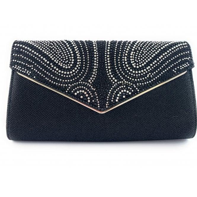 Lotus Caia Silver Diamante Occasion Bag