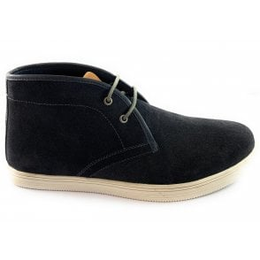 Caleb Navy Casual Lace-Up Boot