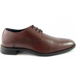 Cameron Bordo Leather Lace-Up Shoe