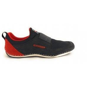 Canario 321-48068-6900 Mens Black Slip On Trainers