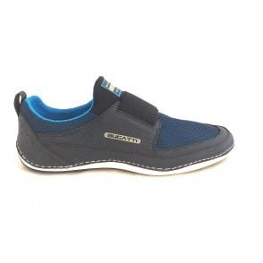 Canario 321-48068-6900 Mens Navy Slip On Trainers
