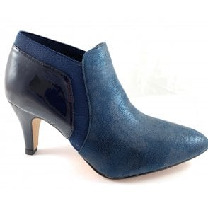 Candice Navy Shoe Boot