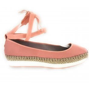 Carla Dusty Peach Espadrille