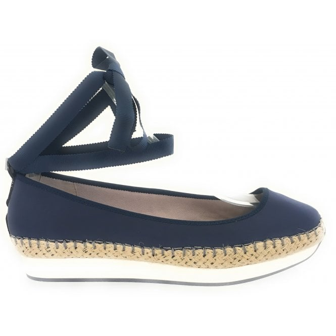 Butterfly Twists Carla Navy Espadrille