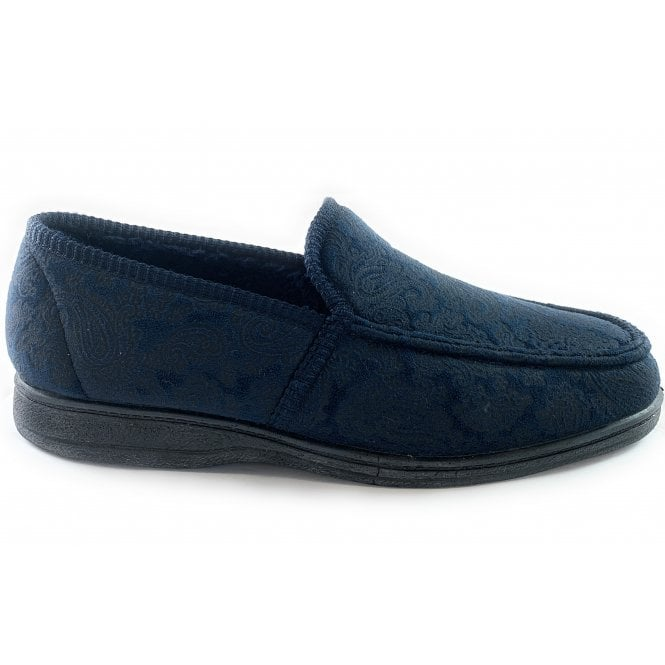 Goodyear Cherwell Mens Navy Slippers