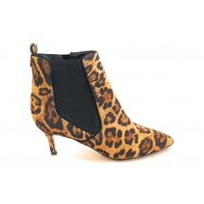 Cheviot Leopard Print Imi Suede Ankle Boot