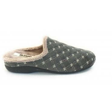 Chinela Grey Mule Slipper