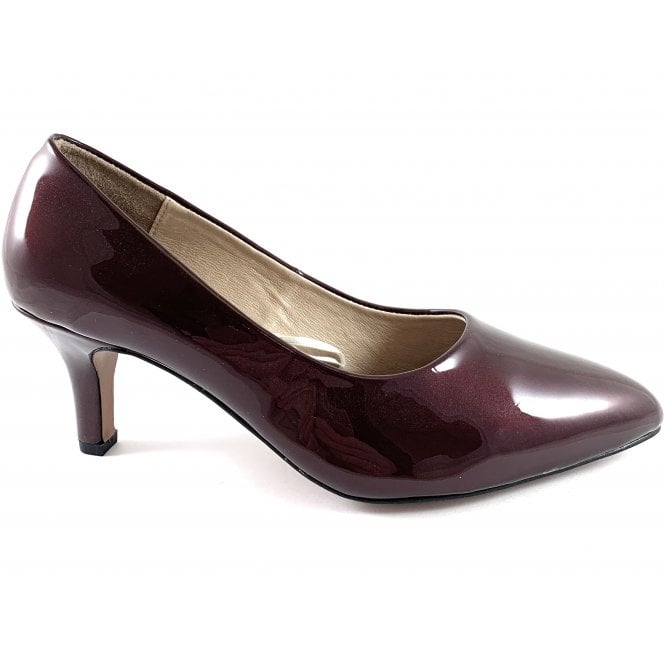 Lotus Clio Berry Patent Court Shoe
