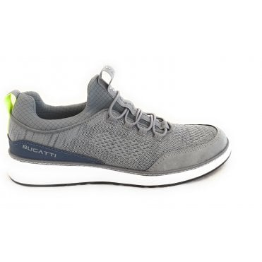 Colby 321-A3C60-6900 Mens Grey Slip On Trainers