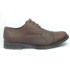 Coldfield Brown Leather Lace-Up Mens Shoe