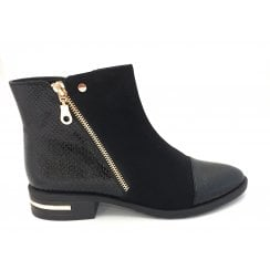 Coppice Black Ankle Boot