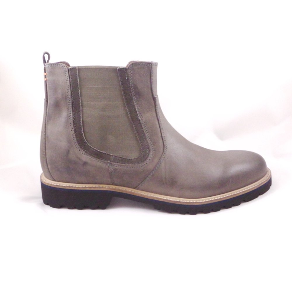 Lotus Crestone Grey Leather Mens Chelsea Boot Lotus From