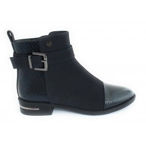 Daphne Navy Ankle Boot