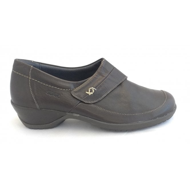 Suave Dawn Brown Leather Casual Shoes