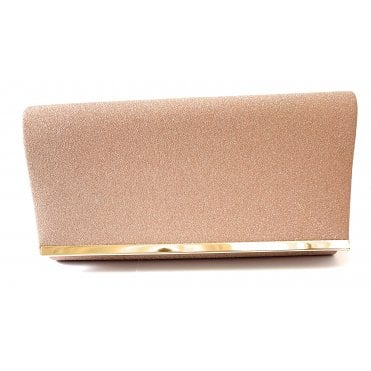 Desiree Pink Glitz Clutch Bag