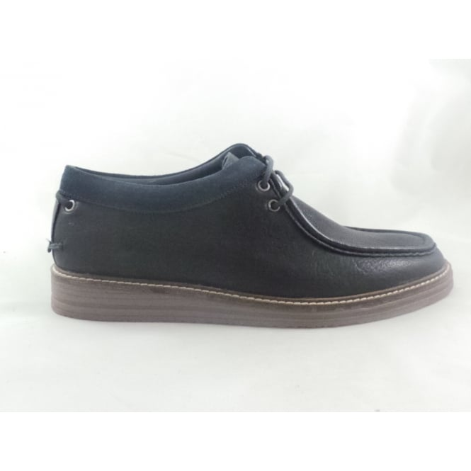 Lotus Donnington Navy Leather Lace-Up Mens Casual Shoe