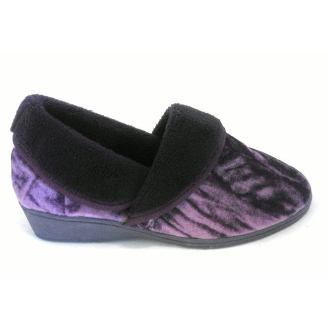 Lotus Doris Purple Full Slipper