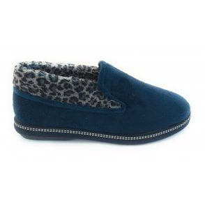 Eliza Navy Slippers
