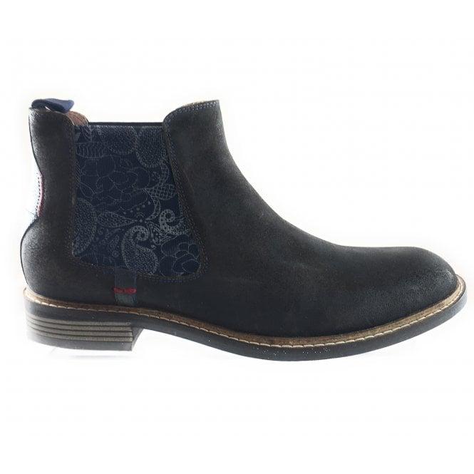 Lotus Embleton Brown Waxy Suede Chelsea Boot