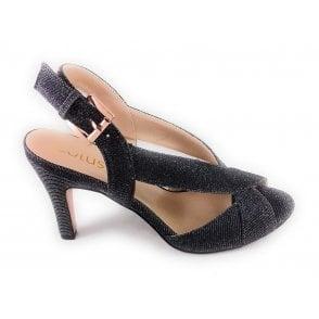 Endive Pewter Shimmer Sandal