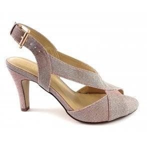 Endive Pink Shimmer Sandal