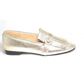 Estrada Gold Loafers