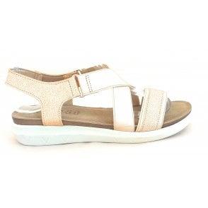 Fallon Silver Casual Sandal