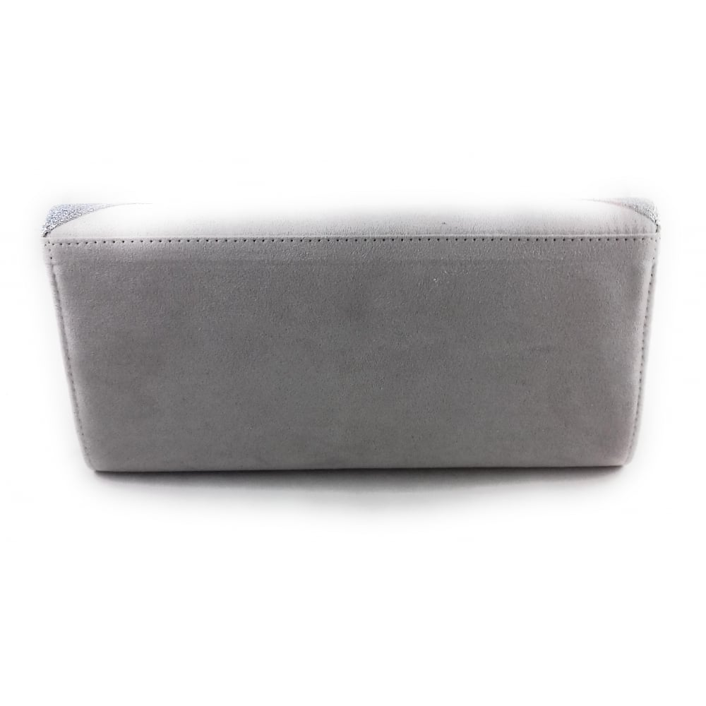 30104aeb4 Lotus Fidda Grey and Pewter Glitz Clutch Bag - Lotus from ...