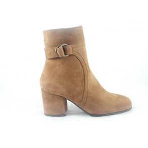 G363 Melita Tan Suede Ankle Boot