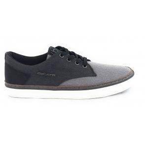 Gante 321-A3F02-6900 Mens Grey Canvas Shoes
