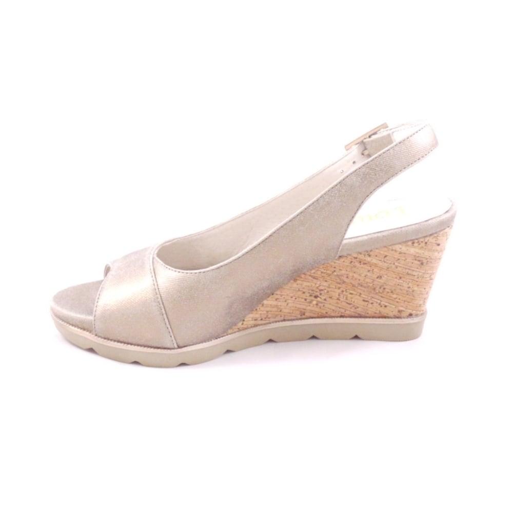 Lotus Wedge Shoe Sale