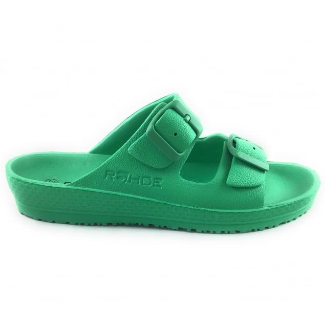 Rohde Green Mule Sandal