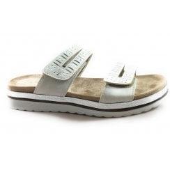 Halley Beige Mule Sandal