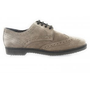Hamill Sand Suede Brogue Size 11