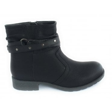Harlow Black Ankle Boot