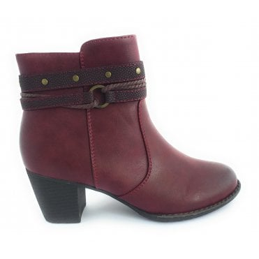 Henrietta Bordo Ankle Boot