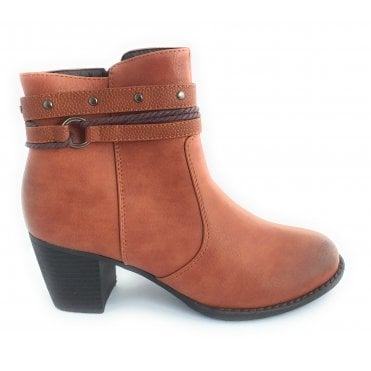Henrietta Tan Ankle Boot