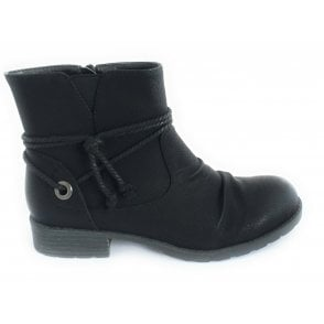 Hilary Black Ankle Boot