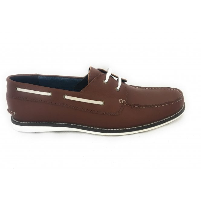 Lotus Holbrook II Men's Brown Leather Deck Shoe