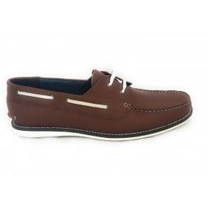 Holbrook II Men's Brown Leather Deck Shoe